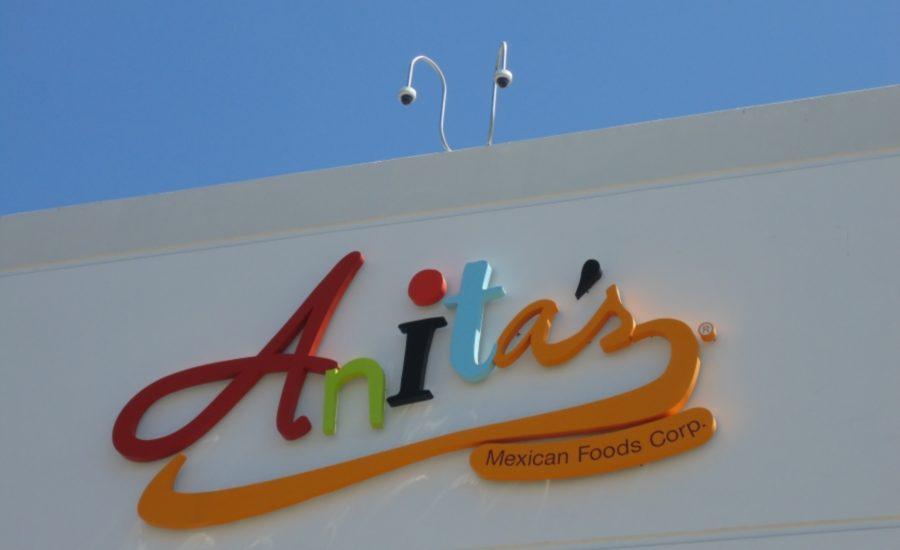 Anitas logo building