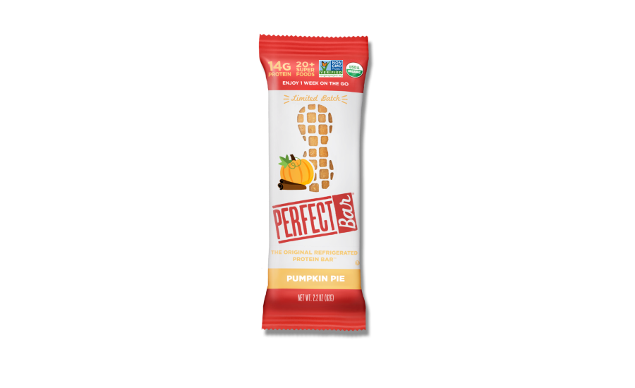 Perfect Snacks limited-edition Pumpkin Pie bar