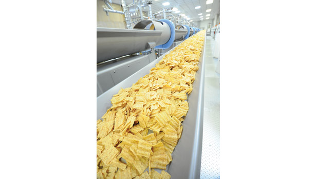 40,000-sq.-ft. production room just for the production of SunChips