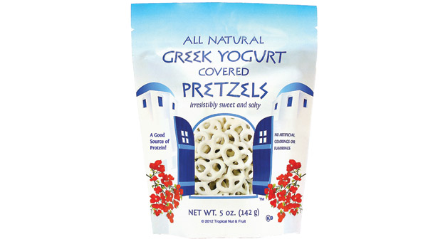 Yogurt covered pretzels