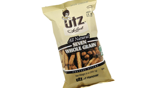Utz whole grain pretzels