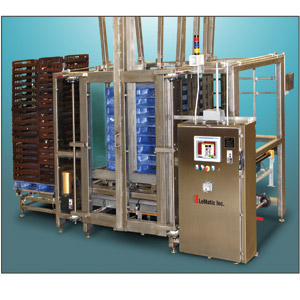 LeMatic's Palletizing System