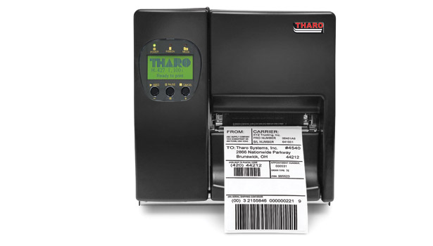 Tharo Systems' PA1200cw corner wrap label printer/applicator