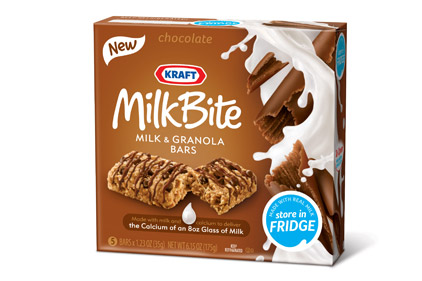 Milkbite bars from Kraft