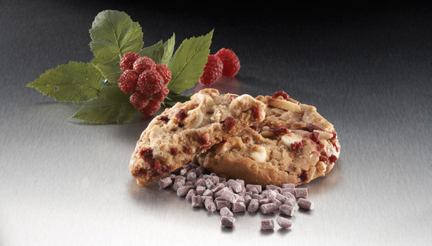 Berries and cookies