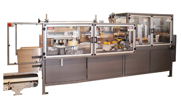Eagle Packaging Machinery's BOXXER case erectors