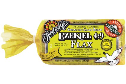 Ezekiel 4 9 Flax Sprouted Whole Grain Bread 2012 11 01 Snack And Bakery