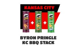 Pringles recruits football star Byron Pringle to debut new tailgating stacks this season
