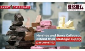 Barry Callebaut and Hershey extend strategic supply agreement