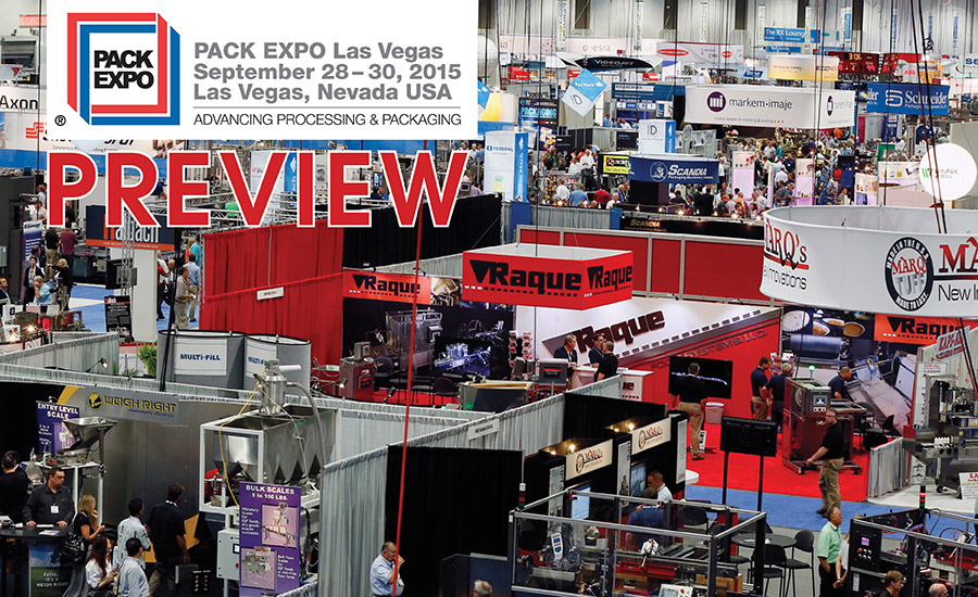 PACK EXPO heads to Las Vegas in September  2015-09-16  Snack and Bakery
