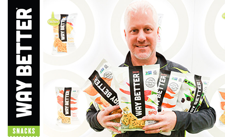 Way Better Snacks sets the pace for better-for-you snacking