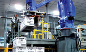 Robotic stackers and loaders improve end-of-line efficiency