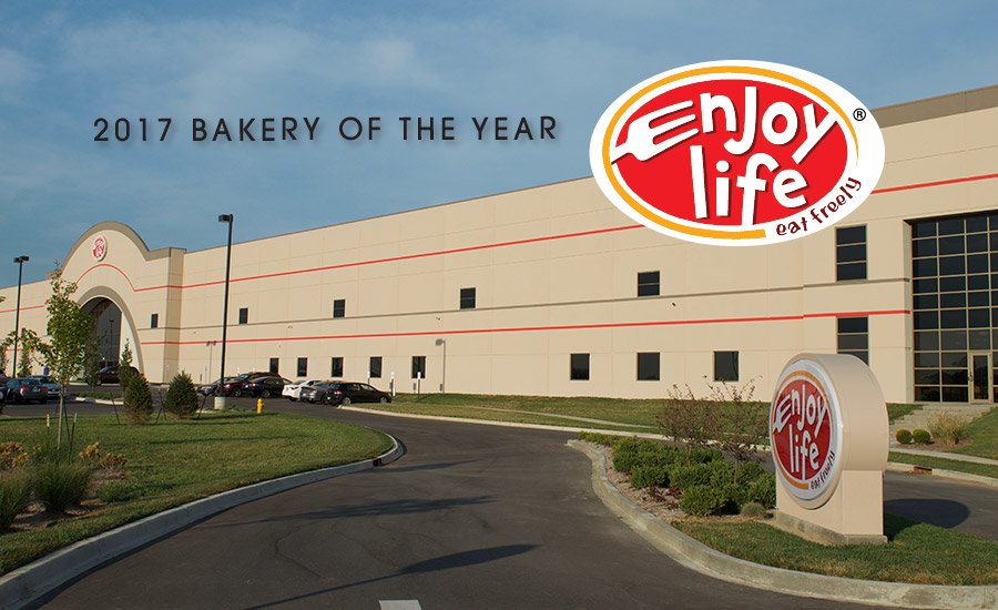 2017 'Bakery of the Year' Enjoy Life Foods