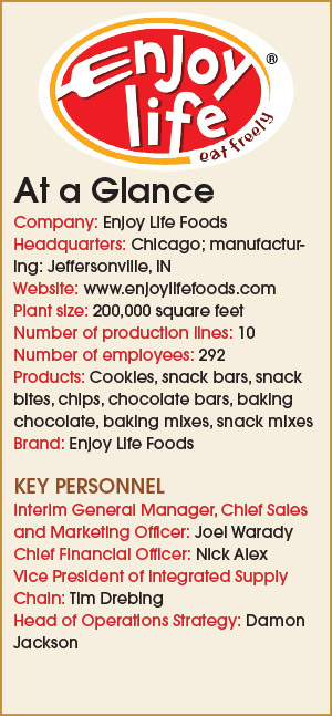 2017 Bakery of the Year - Enjoy Life Foods | 2017-08-17