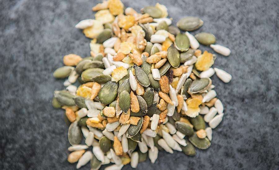 Using nutritious, delicious nut and seed ingredients in snacks and baked goods