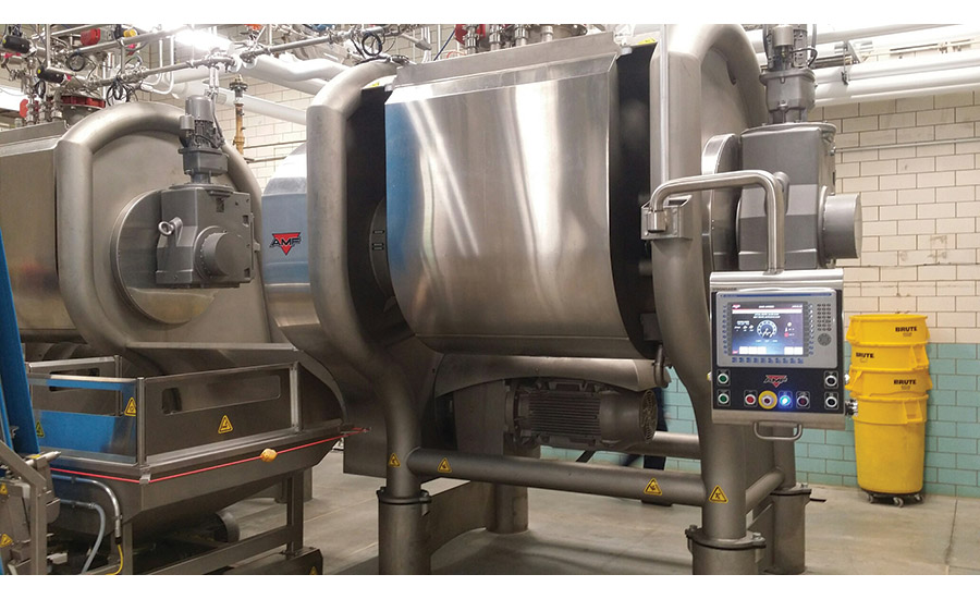 Snack and bakery mixers add user-friendly conveniences