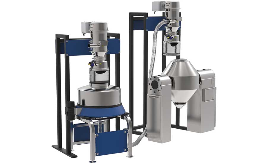 Ingredient handling equipment to maximize efficiency and throughput