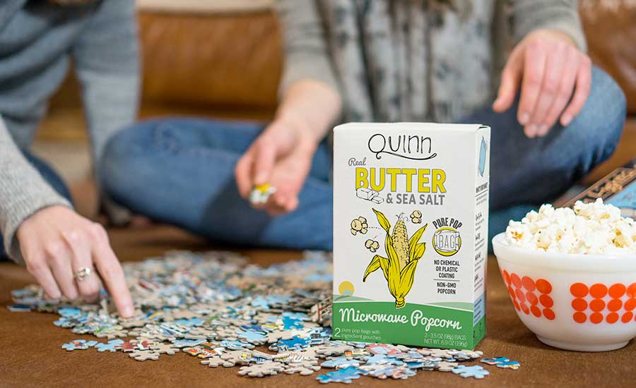 Snacks reimagined—Quinn Snacks, 2017 Snack Producer of the