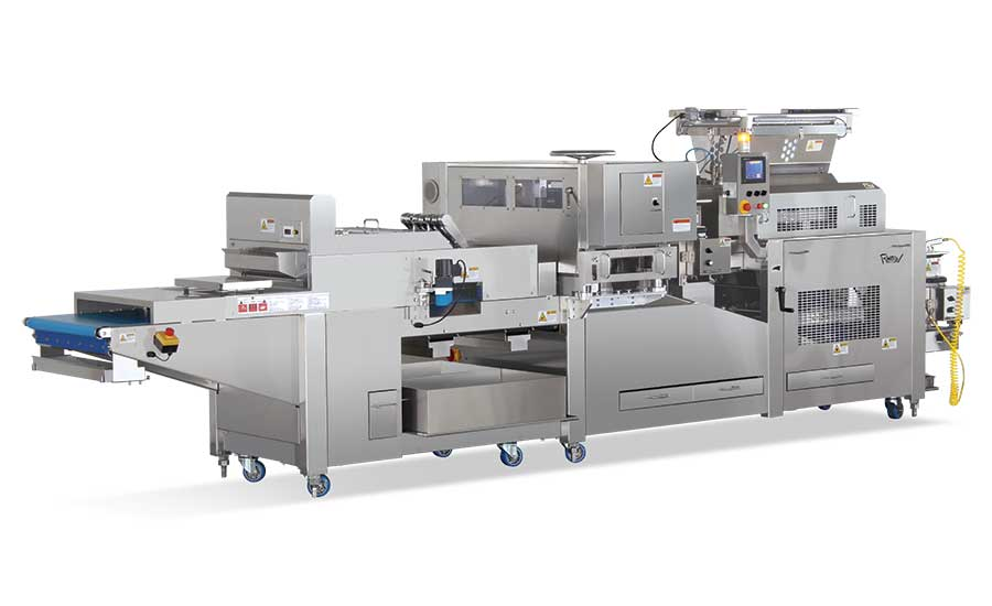New depositors, dividers, and rounders for efficient dough handling