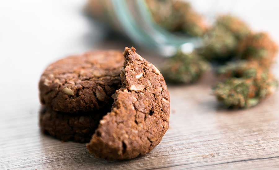 Legal cannabis edibles