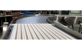 New and improved belts and conveyors for snack and bakery production facilities