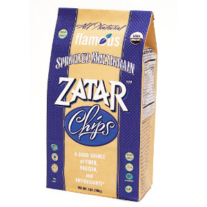 Flamous Sprouted Multgrain Zatar Chips