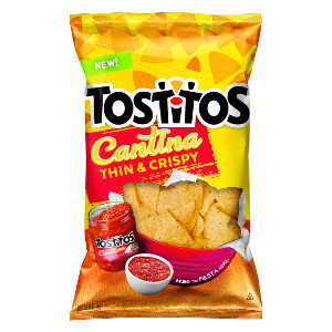 Tostitos Cantina Thin & Crispy tortilla chips