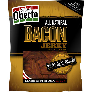 Oh Boy! Oberto All-Natural Bacon Jerky