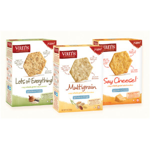 Van's Whole Grain Crackers