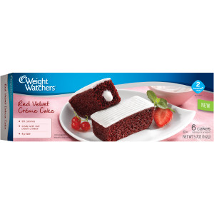 Weight Watchers Red Velvet Creme Cakes