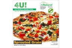 Better4U All Natural Ultra-Thin Multigrain Sprouted Grain Pizza