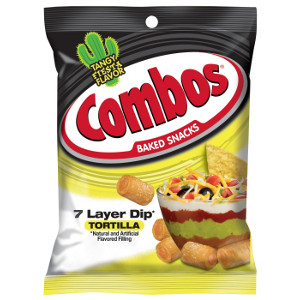 COMBOS Baked Snacks 7 Layer Dip Tortilla