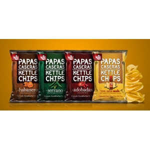 Risi Papas Caseras Kettle Chips