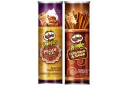 Pringles Pecan Pie and Cinnamon & Sugar