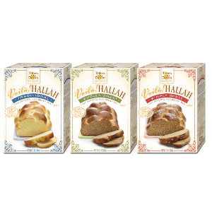 Tribes-A-Dozen Voila! Hallah All Natural Egg Bread Mixes