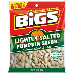 BIGS Lightly Salted Pumpkin Seeds