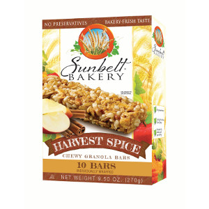 Sunbelt Bakery Harvest Spice Chewy Granola Bars