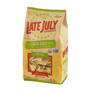 : Late July Organic Snacks Restaurant Style Tortilla Chips