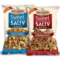 Snyder's of Hanover Sweet and Salty Flavored Pretzel Pieces