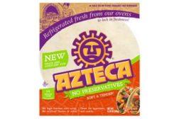 Azteca No Preservative Snack Size Tortillas
