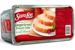 Sara Lee Gingerbread Pound Cake