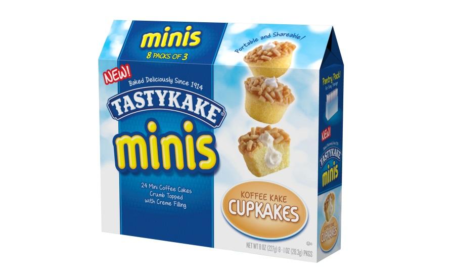 Tastykake Chocolate Cupcakes Nutrition
