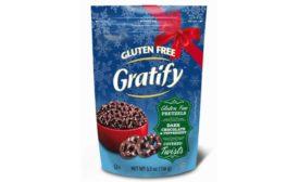 Gratify Foods' Dark Chocolate Peppermint Pretzel Twists
