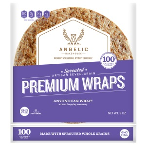 Angelic Bakehouse Sprouted Seven-Grain Premium Wraps