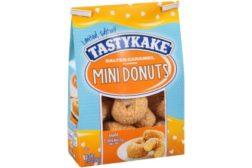 Tastykake Salted Caramel Mini Donuts
