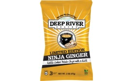 Deep River Snacks Limited Edition Ninja Ginger Kettle Chips
