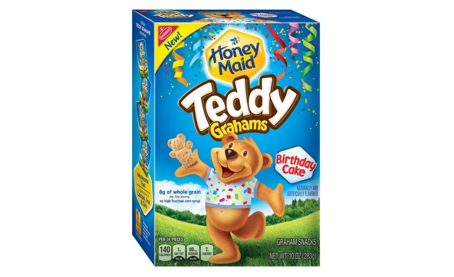 Honey Maid Birthcake Teddy Grahams