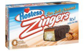 Hostess Sea Salt and Caramel Zingers