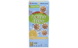 HomeFree Gluten Free Lemon Burst Mini Cookies