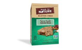 Back to Nature Gluten Free Sea Salt Adzuki Bean Crackers